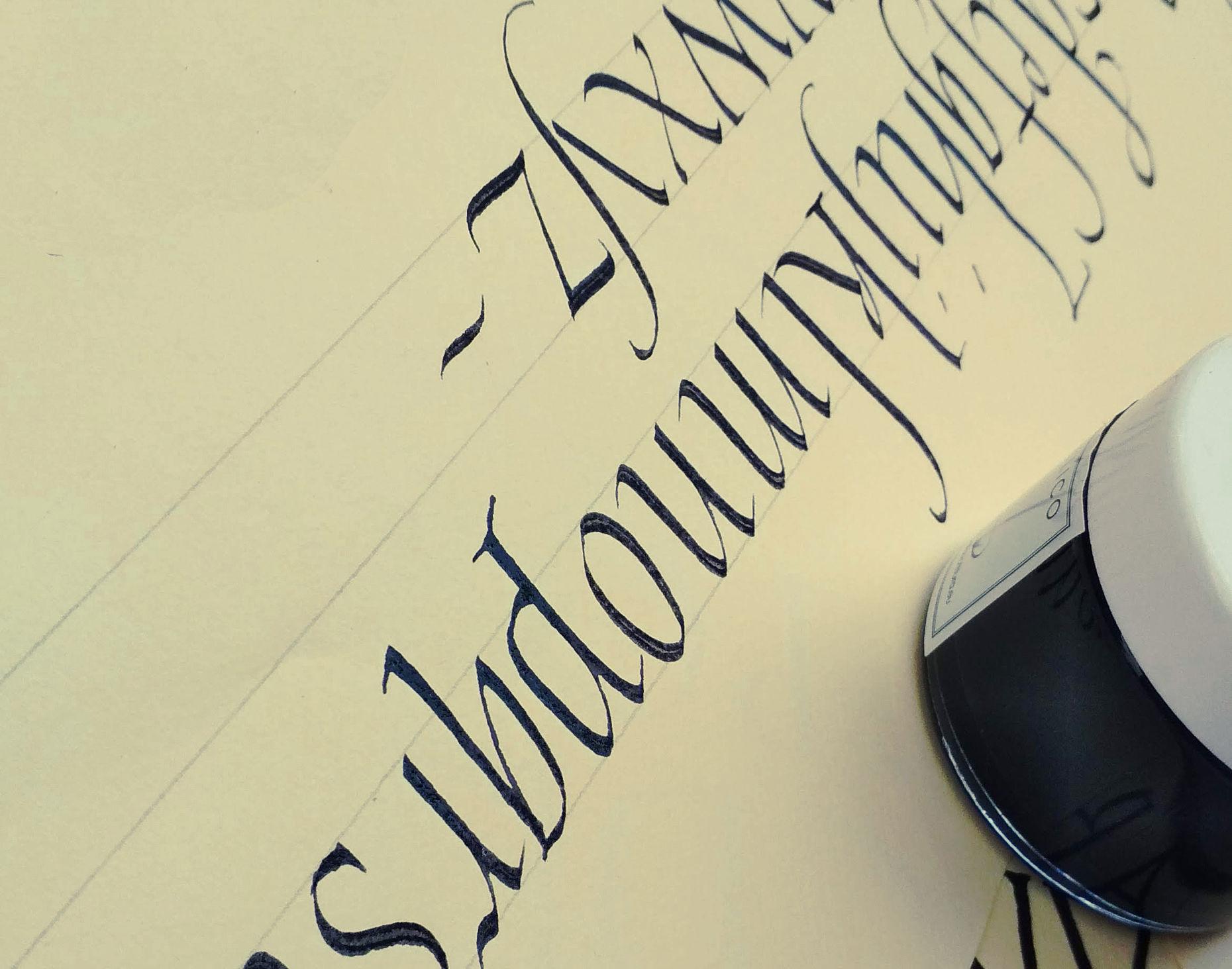 migliorare la scrittura calligrafia