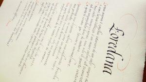 corsivo italico poesia