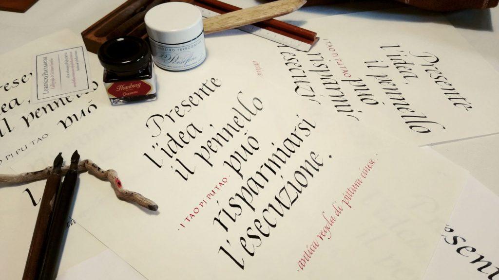 calligrafia come terapia