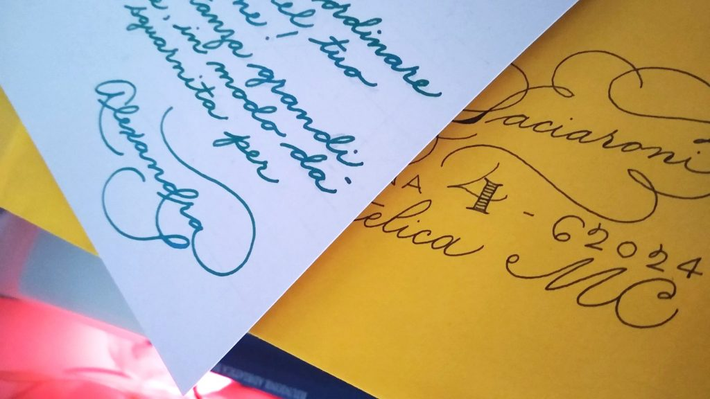 calligrafia alexandra spiniello baratto