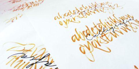 introduzione alla calligrafia